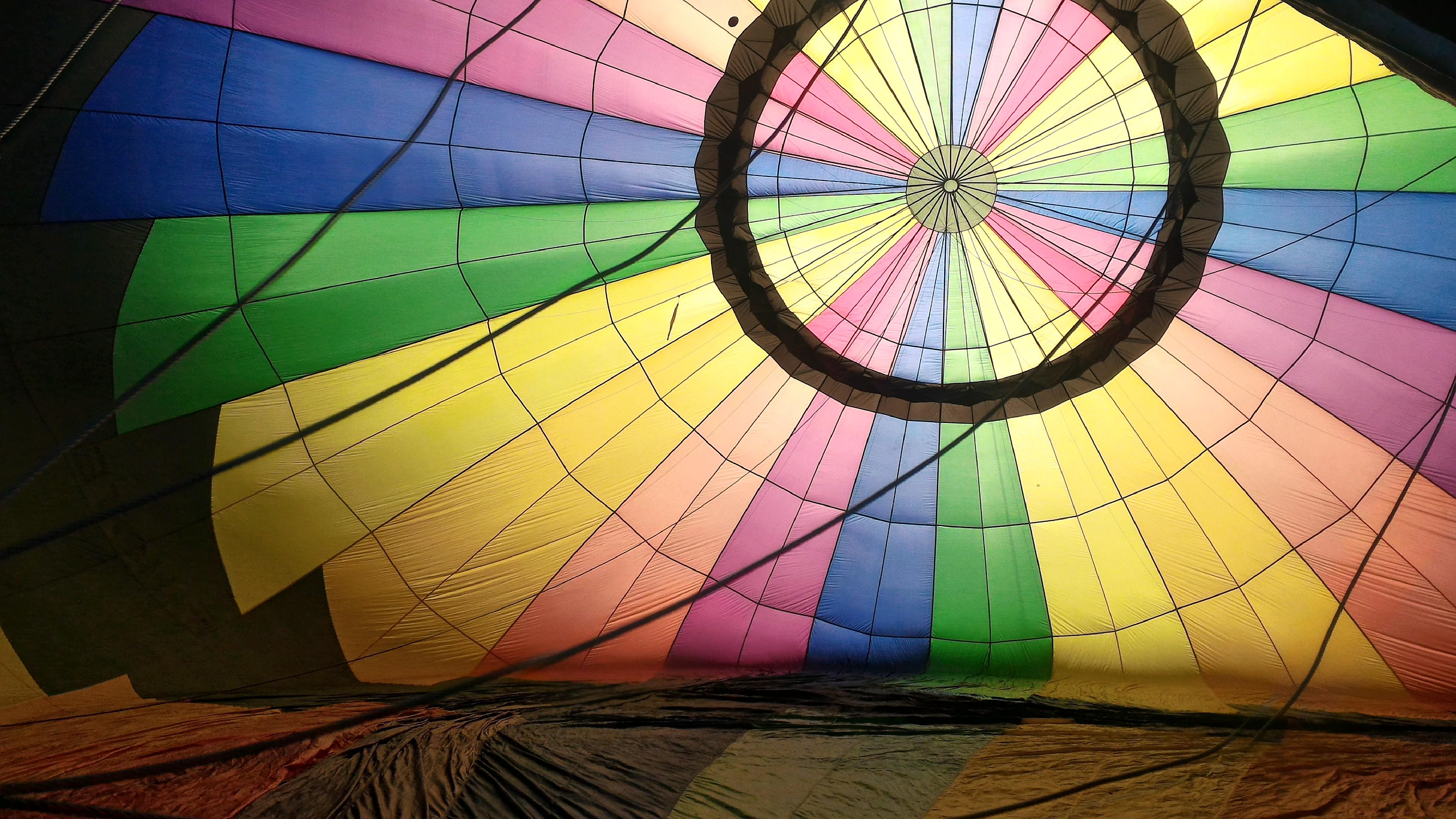 Montgolfiere Inside