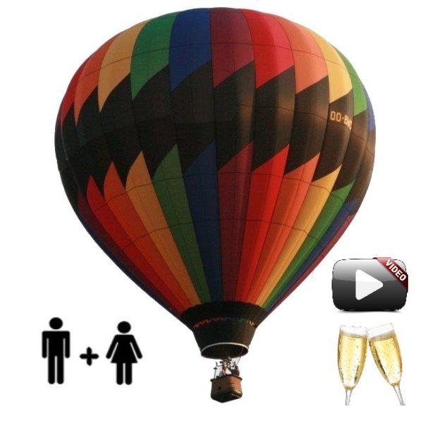 Vol en montgolfiere lyon adulte prestige v1