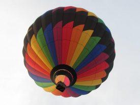 Notre montgolfière à villefranche