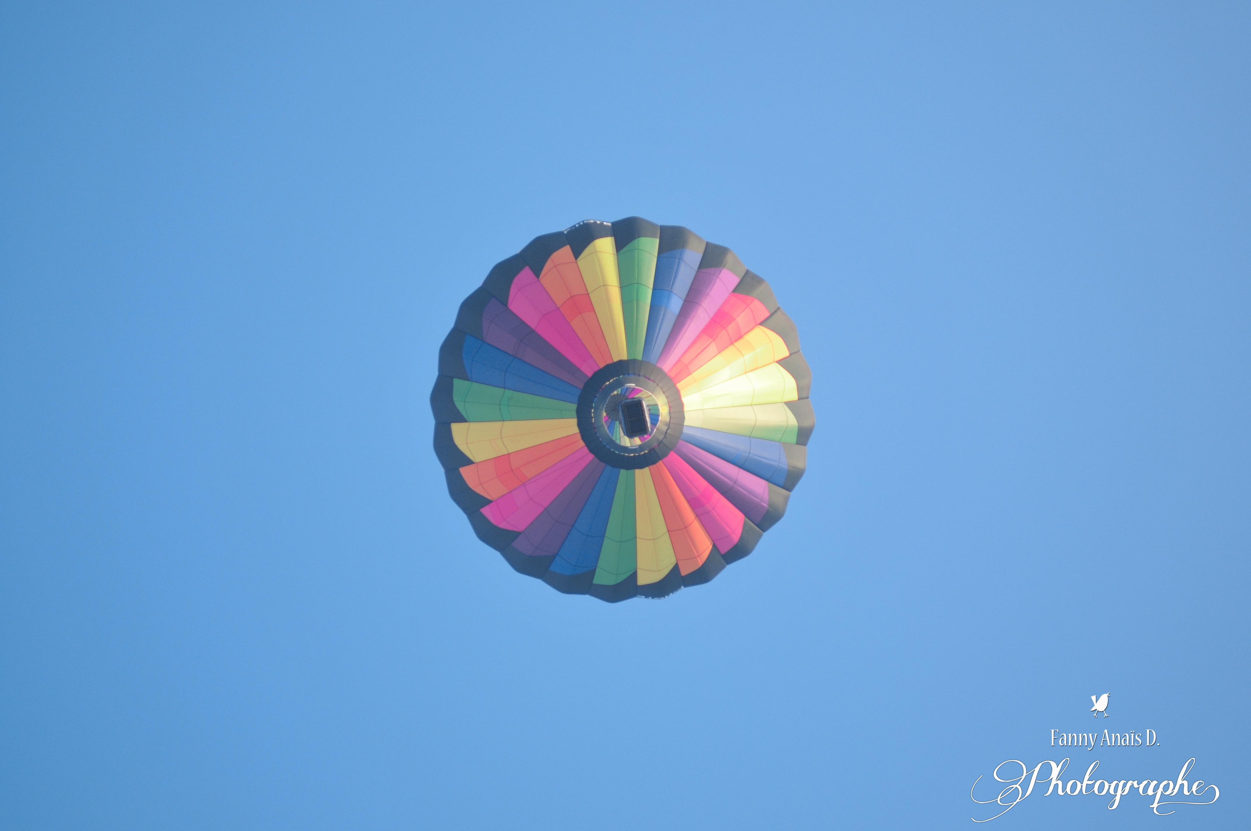 Le voyage en montgolfiere