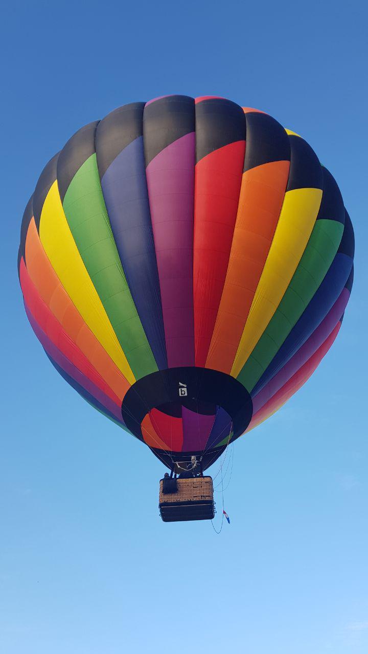 Montgolfière pour baptême de montgolfière a Lyon